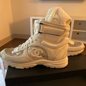 Chanel High-Top Sneakers